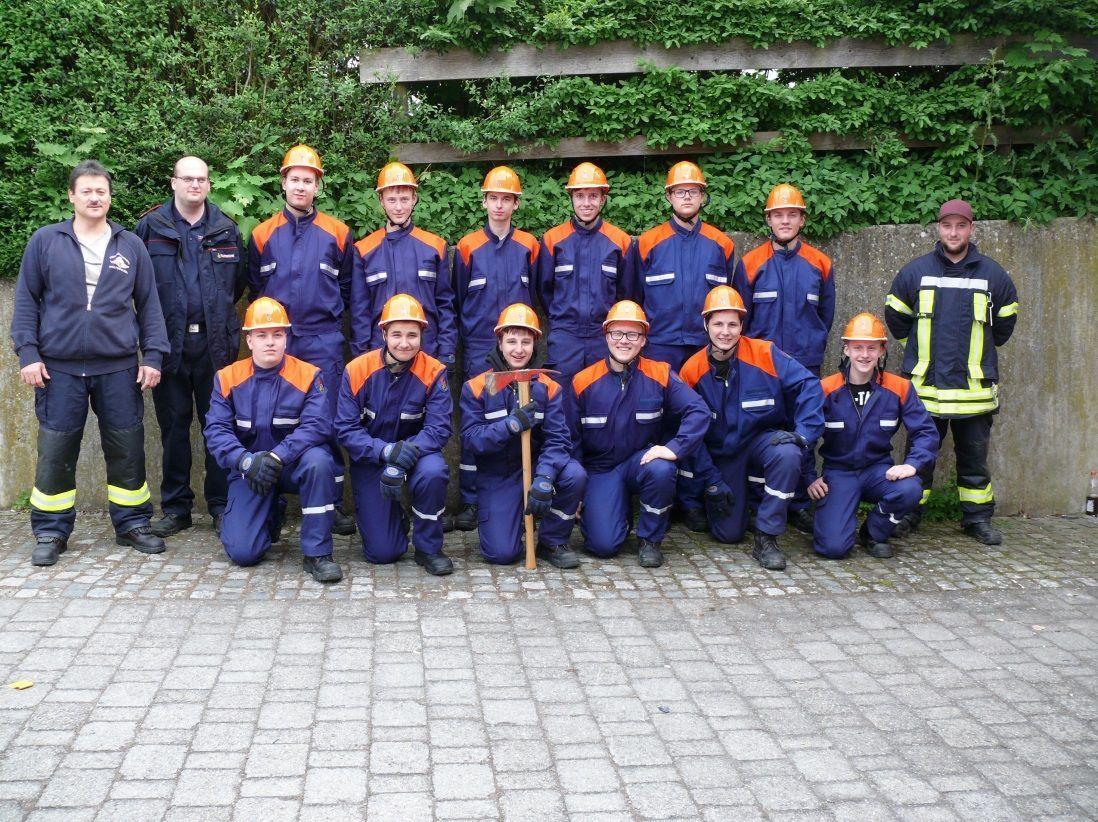 Jugendfeuerwehr Mannschaft