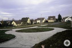 Neubau Straßen Baugebiet Bei der Linde