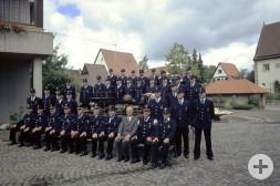 Gruppenfoto Feuerwehr Remmingsheim