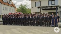 Freiwillige Feuerwehr Neustetten Mannschaftsbild